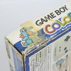 Game Boy Color Pokemon Centre D'or Argent Console Nintendo Boxed Testé 992 GB