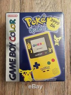 Game Boy Color Pokemon Edition Spéciale. Neu / Scellé