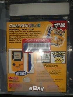 Game Boy Color Pokemon Jaune Édition Pikachu 1999 Marque Vga Wata Nouveau Joint Rare