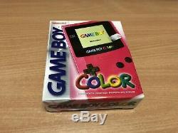 Game Boy Color Rose Édition Rosa Nuovo Gameboy Nouvelle Marque Nintendo