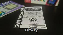 Game Boy Color Rouge Gbc Cib Console Jap Jpn Import Japon