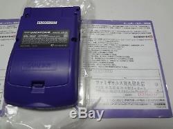 Game Boy Color Systems Versions Régulières 6-set Complet Nintendo Game Boy Japan Vgood