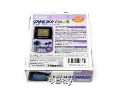 Game Boy Color (violet Clair) Fabricant Fin De Production Japon 483