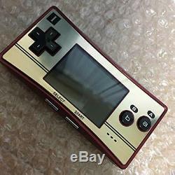 Game Boy Micro Famicom Couleur Du Japon Gameboy Micro 20 Modèle Jp
