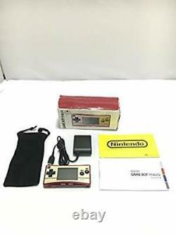 Game Boy Micro Famicom Couleur Du Japon Gameboy Micro 20e Modèle