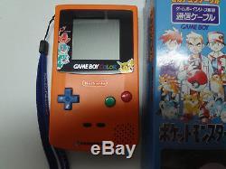 Game Boy System Couleur Pokemon 3 Shunen Kinen Centre Orange Nintendo Japon Loose
