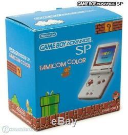 Gameboy Advance Konsole Gba Sp Inkl. Stromkabel #famicom Color Edition Avec Ovp