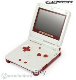 Gameboy Advance Sp Konsole Inkl Stromkabel Famicom Couleur Edt Mit Ovp Top Zustand