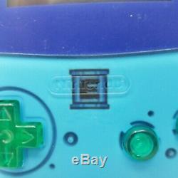 Gameboy Color Backlit Personnalisée Megaman Édition