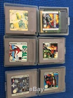 Gameboy Color Green & Gold Édition Limitée Spéciale Aussie Edition Avec 6 Jeux