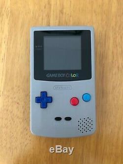 Gameboy Color Ips Rétro-éclairage LCD Batterie Rechargeable Microusb Avec Haut-parleur Mod