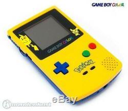 Gameboy Color Konsole #ltd. Pokemon Edt. Jaune / Gel Avec Ovp Ovp Beschädigt