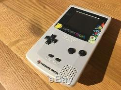 Gameboy Color Pokemon Center Edition Limitée Or Argent Japan Bon État