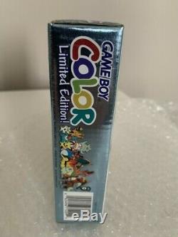 Gameboy Color Pokemon Silver / Gold Limited Edition Scellé À L'usine Nouveau
