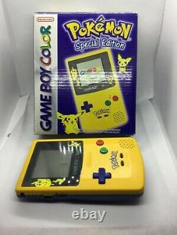 Gameboy Color Pokemon Special Edition Flambant Neuf