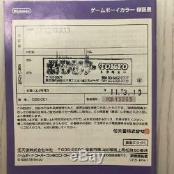 Gameboy Color Pokemon Version Anniversaire 3th Millésime Rare Emsf Limité / S