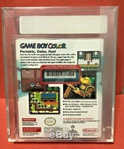 Gameboy Game Boy Color System Console Teal Marque Nouveau Nes Vga Graded 85 Mint