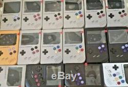 Gameboy Zero, Raspberry Pi Zero Entièrement Construit Dans Un Boîtier Gameboy Dmg