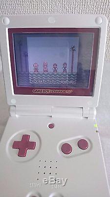 Gba Game Boy Advance Sp Console De Couleur Famicom En Boîte + Super Mario Advance Japan