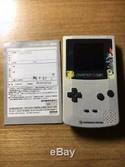 Gbc Pokemon Center Version Limitée Or / Argent Console Nintendo Gameboy Color