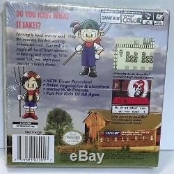 Harvest Moon Gbc (nintendo Game Boy Color, 1999) Nouveau Et Scellé En Usine