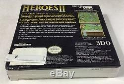 Heroes II Might And Magic (nintendo Game Boy Color 2000) Nouvelle Usine Scellée Rare