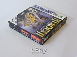 Heroes Of Might And Magic II 2 Game Boy Color Cib Complet Dans La Boîte Manuel Du Jeu