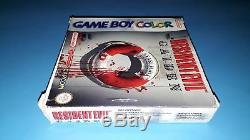Jeu Nintendo Game Boy Color Resident Evil Gaiden Complet