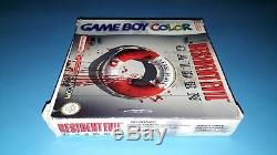 Jeu Nintendo Game Boy Couleur Gameboy Resident Evil Gaiden Complet
