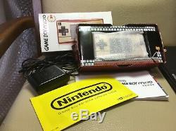Jeu Nintendo Game Boy Micro Nes Limited Couleur Japan F / S Famicom