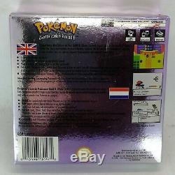 Jeu Vidéo Pokemon Crystal Pour Nintendo Game Boy Color Pal Boxed Tested