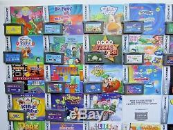 Jeux Vidéo Et Manuels Nintendo Gameboy Advance Lot De Couleurs Ds Lot Mario Kart