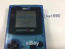 Ka1690 Plz Lire Objet Condi Gameboy Color Ana Voir Console Japon