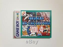 Konami GB Collection Vol 4 Nintendo Gameboy Color Solo Scatola + Manuale