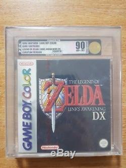 La Légende De Zelda Links Awakening DX Nintendo Gameboy Color 90 Vga Nouveau Scellé