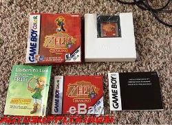 La Légende De Zelda Oracle De Saison (nintendo Game Boy Color, 2001) Cib Mint