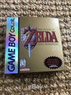 Legend Of Awakening DX Complete De Zelda Link (nintendo Game Boy Color, 1998)