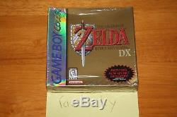 Legend Of Awakening DX De Zelda Link (gameboy Color) 1er Run Holostrip Scellé