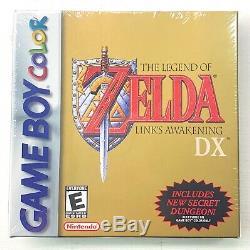 Legend Of Awakening DX (gameboy Color) De Zelda Link Tous Neufsemblable À L'usine