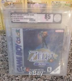 Legend Of Zelda Oracle Des Ages Vga 85 Nintendo Gameboy Couleur Scellé Nouveau 1er GB