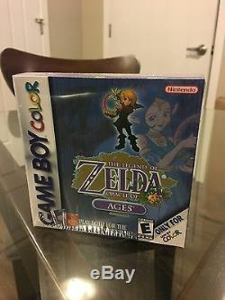 Legend Of Zelda Oracle Of Ages Game Boy Color Sealed