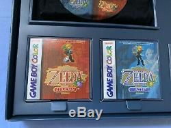Legend Of Zelda Oracle Of Ages & Seasons Limited Edition Game Boy Color