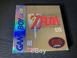 Légende De Awakening DX Game Boy Color De Zelda Link Neuve Non Ouverte