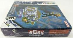 Légende De Zelda Oracle Des Âges Nintendo Game Boy Color Brand New Sealed
