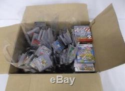 Lot 210 Japan Rare Games Lot Box Wholesale Plusieurs Jeux Gameboy Color Pokemon