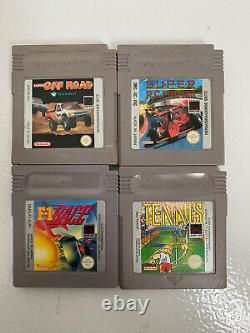Lot Game Boy Dmg Back Light Mod + Game Boy Color Light Mod + 21 Jeux / 21 Games