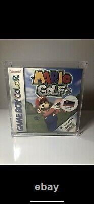 Mario Golf (nintendo Game Boy Color, 1999) Nouveau, Scellé