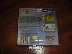 Marque Nouvelle Usine Scellé Pokemon Cristal Version Pour Game Boy Color Jamais Ouverts