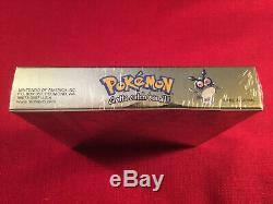 Marque Nouvelle Usine Scellé Pokemon Gold Version Nintendo Game Boy Color Game