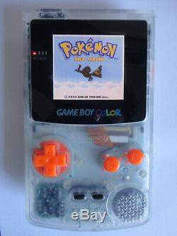 Modded Ags 101 Système Nintendo Game Boy Clear Color Edition Pour Ordinateur De Poche, Backlit